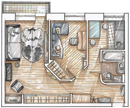 Большая часть квартир и домов